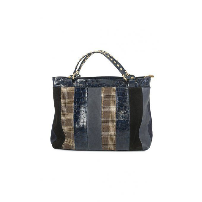 Sac Achille grand bleu